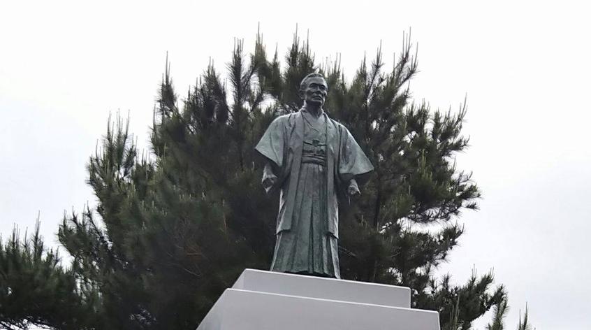 Statue de Kanbun Uechi